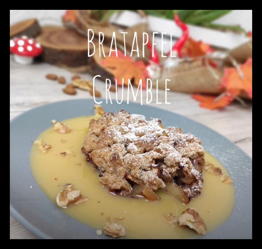Bratapfel Crumble